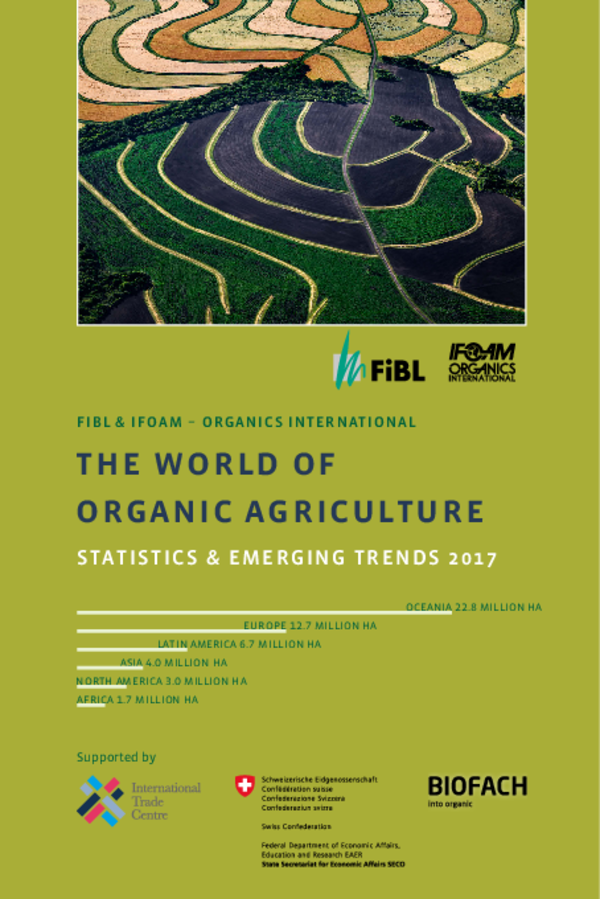 Cover World of Organic Agriculture 2017