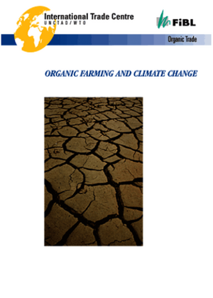 Organic farming and climate change