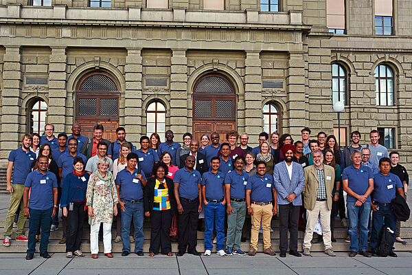 Participants of the symposium on participatory technology development