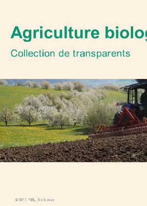Collection de transparents sur l'agriculture biologique