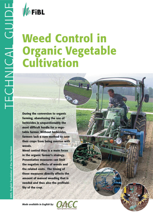 Weed Control in Organic Vegetable Cultivation