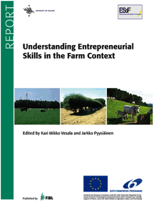 Understanding Entrepreneurial Skills in the Farm Context