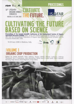 Cultivating the Future Based on Science. Volume 1: Organic Crop Production