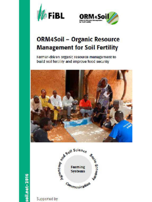 ORM4Soil - Organic Resource Management for Soil Fertility