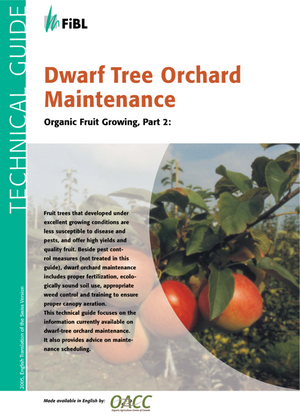 Dwarf Tree Orchard Maintenance