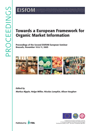 Towards a European Framework for Organic Market Information