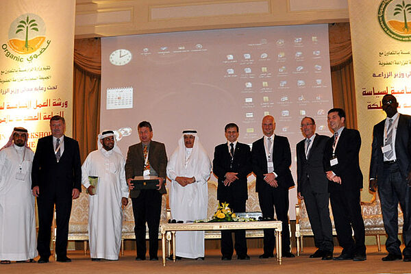 Successful presentation of the Organic Agricultural Policy for Saudi Arabia.