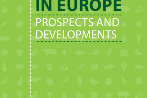"Cover ""Organic in Europe. Prospects and Developments"""