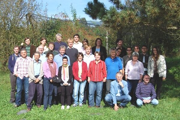 The participants at the OrganicDataNetwork project meeting at FiBL in Frick early October 2012