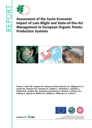 Assessment of the Socio-Economic Impact of Late Blight and State-of-the-Art Management in European Organic Potato Production Systems