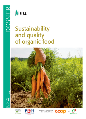 Sustainability and quality of organic food