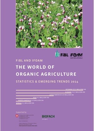 The World of  Organic Agriculture 2014