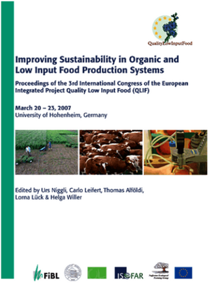 Improving Sustainability in Organic and Low Input Food Production Systems