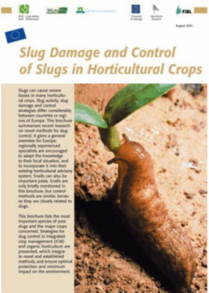 Slug Damage and Control of Slugs in Horticultural Crops