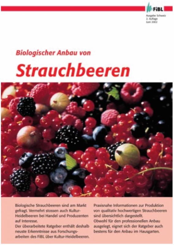 Biologischer Anbau von Strauchbeeren
