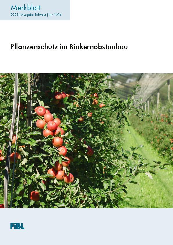 Pflanzenschutz im Biokernobstanbau