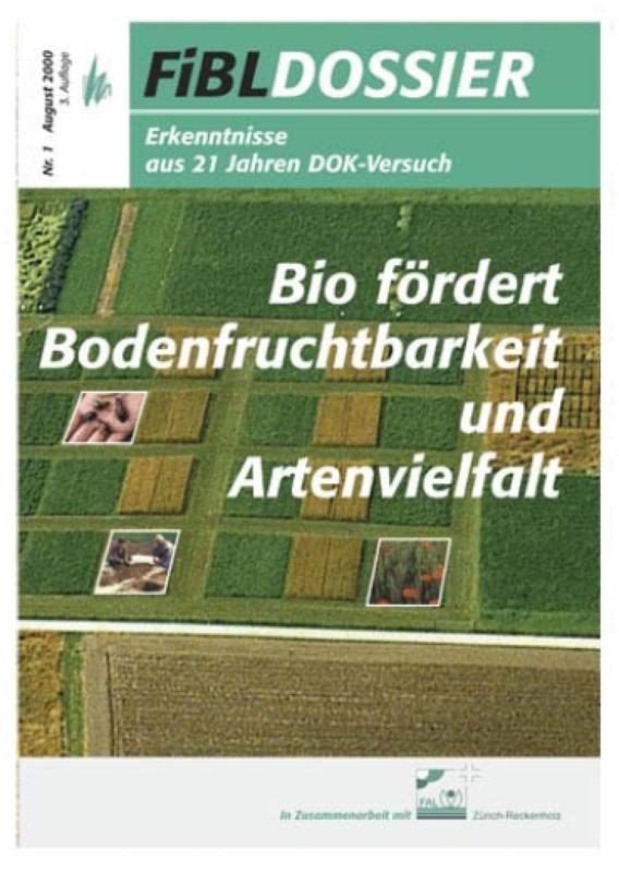 Bio fördert Bodenfruchtbarkeit und Artenvielfalt
