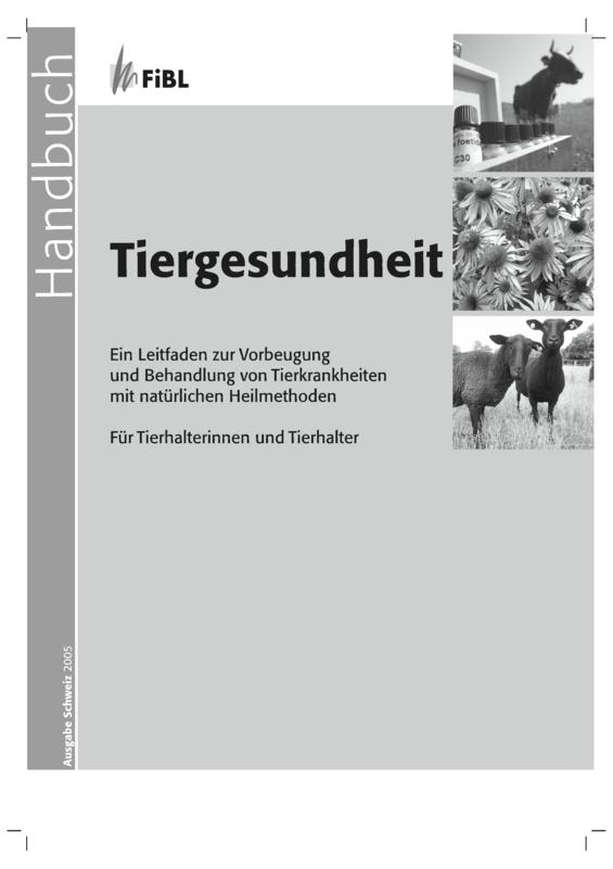 Handbuch Tiergesundheit