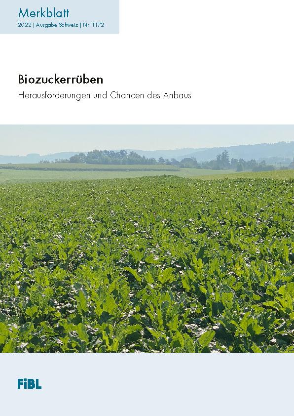 Biozuckerrüben