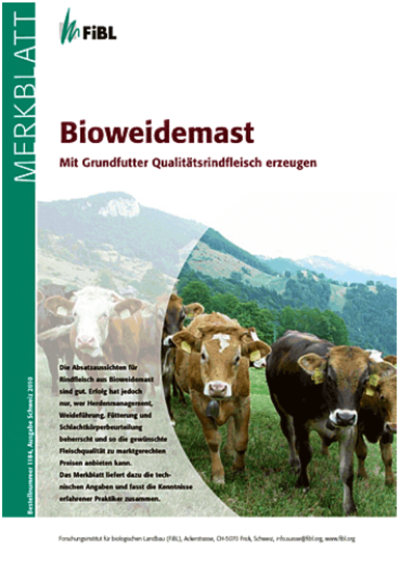 Cover: Bioweidemast