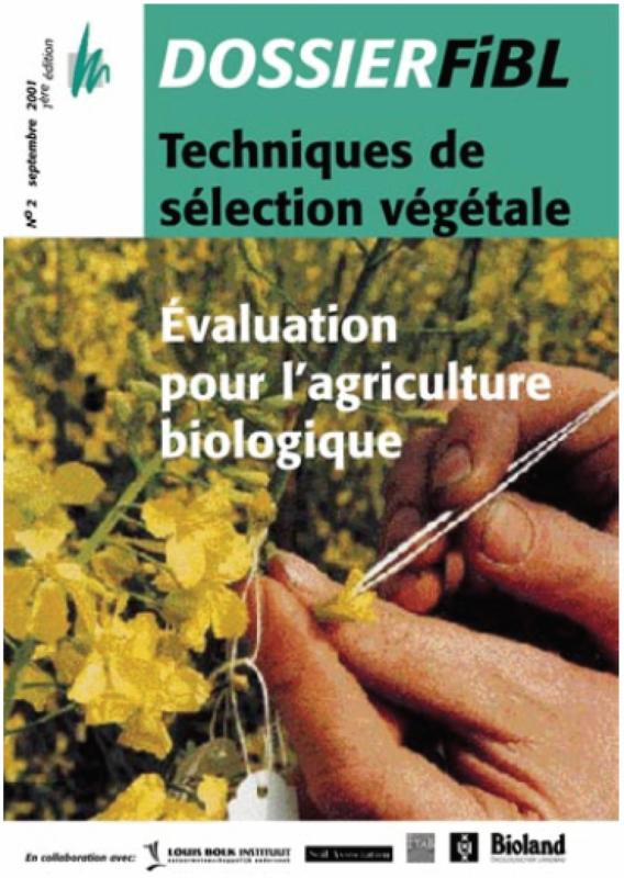 Techniques de sélection végétale