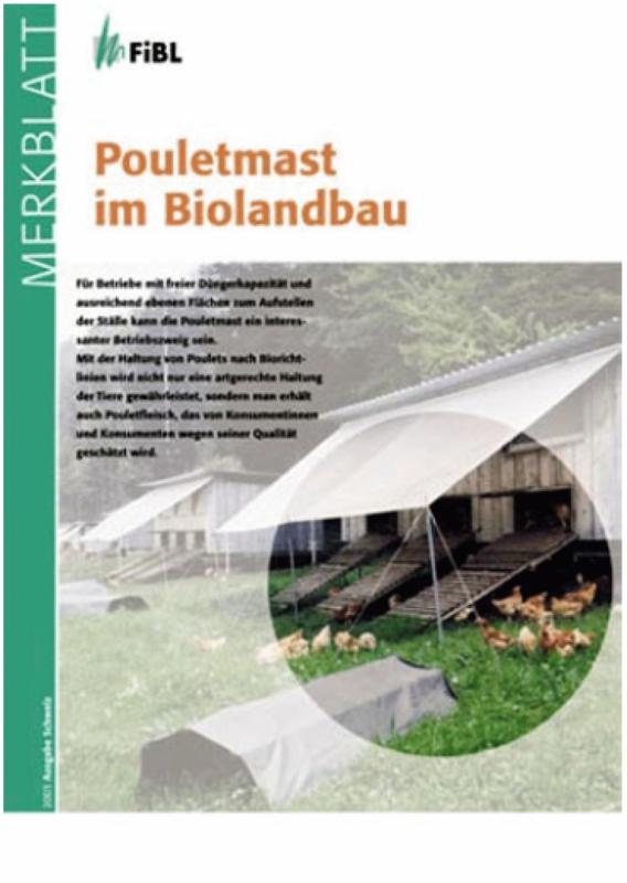 Pouletmast im Biolandbau