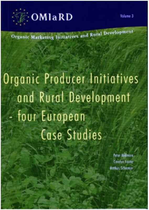 Cover: Organic Producer Initiatives and Rural Development - four European Case Studies