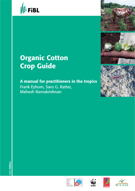 Cover: Organic Cotton Crop Guide