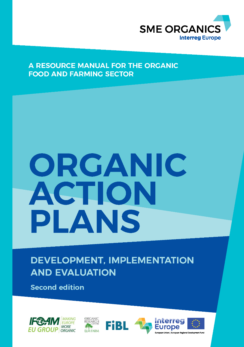 Cover: Organic Action Plans. Development, Implementation and Evaluation