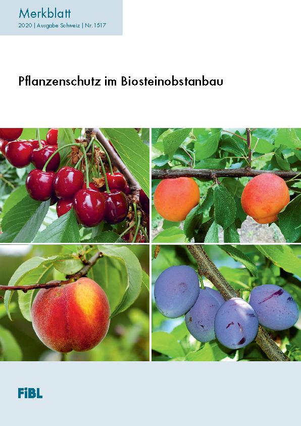 Pflanzenschutz im Biosteinobstanbau