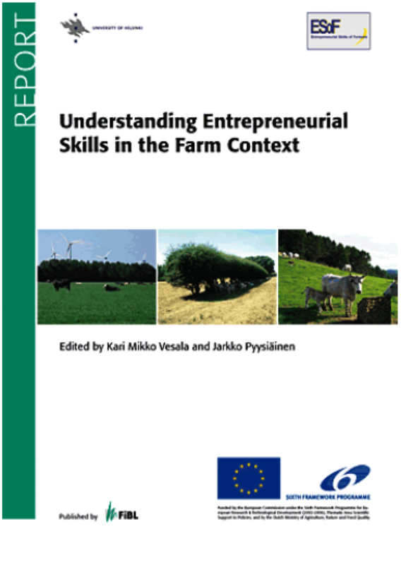 Cover: Understanding Entrepreneurial Skills in the Farm Context