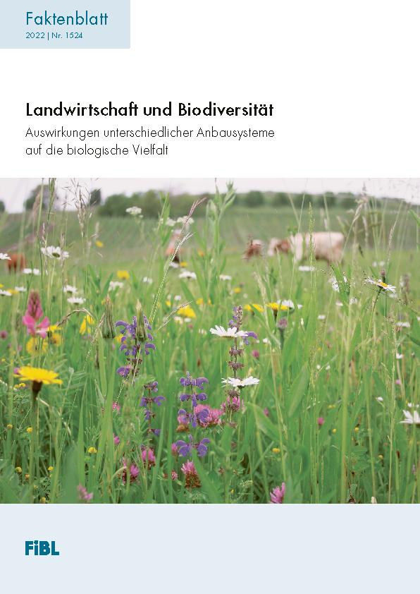 Biolandbau und Biodiversität