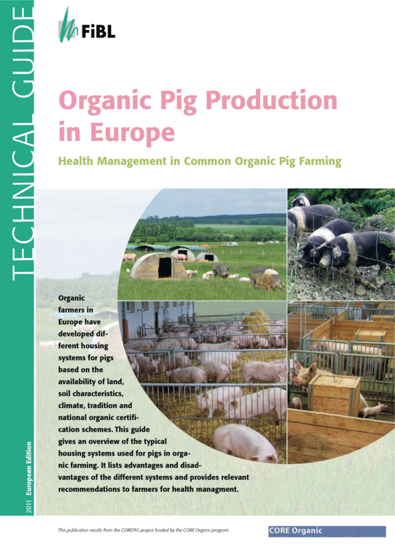 Cover: Organic Pig Production in Europe