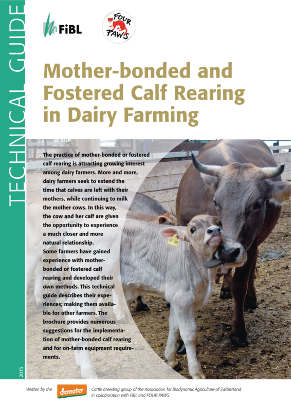 Cover: Mother-bonded and Fostered Calf Rearing in Dairy Farming