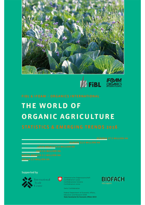 Cover: The World of Organic Agriculture