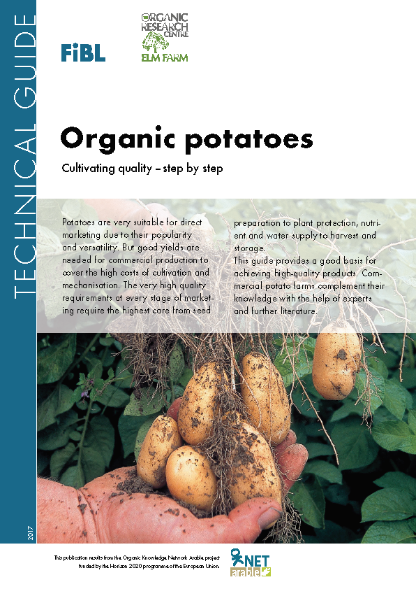 Cover: Organic potatoes. Cultivating quality – step by step