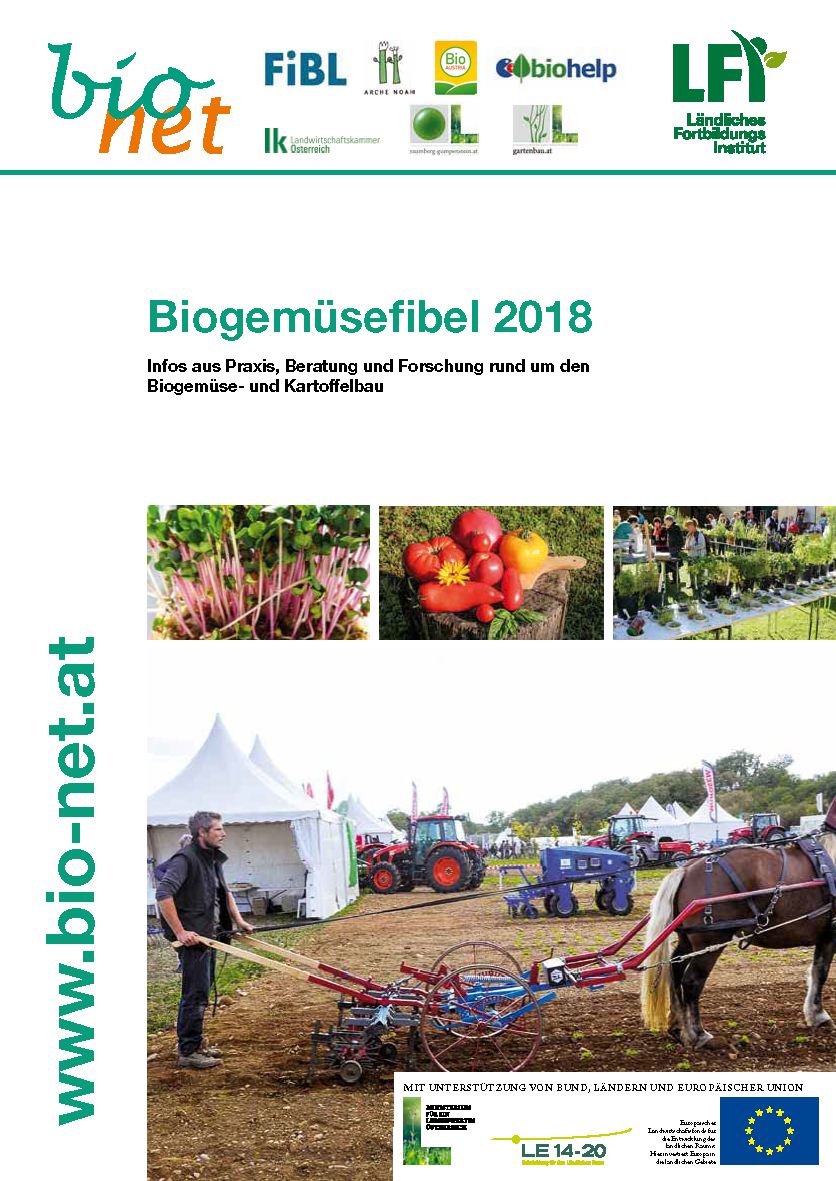 Biogemüsefibel 2018