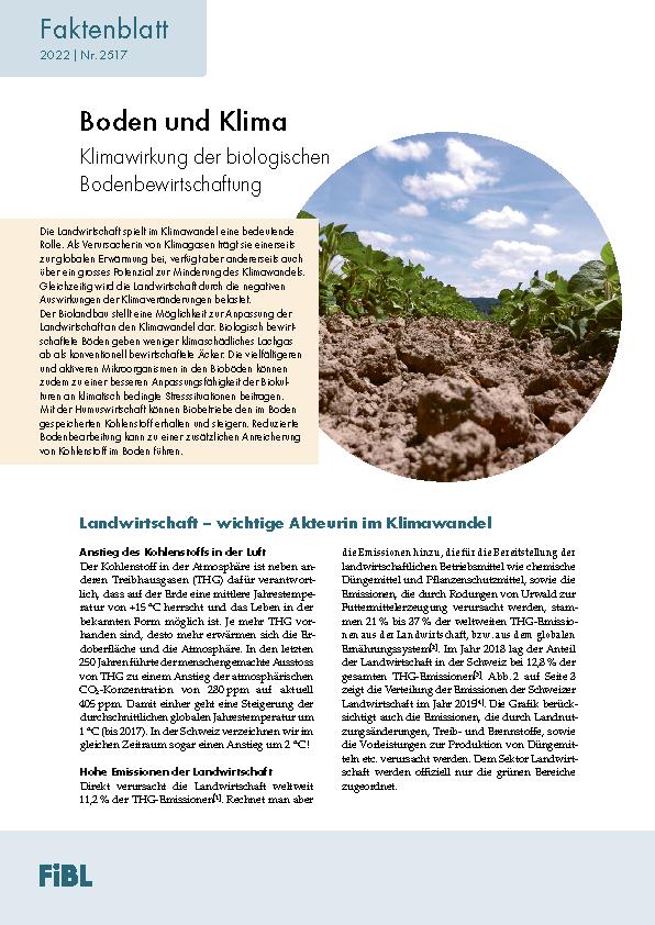 Boden und Klima